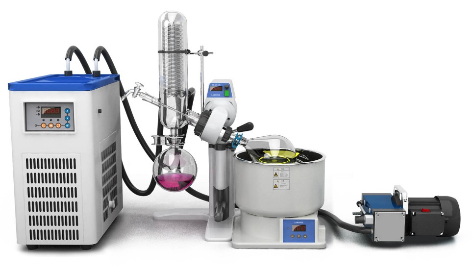 Re 2l Rotary Evaporator Rotovap Manufacturer In China